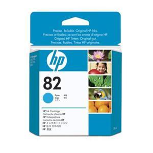 HP inkoustová cartridge azurová CH566A, č. 82