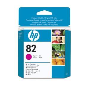 HP inkoustová cartridge purpurová CH567A, č. 82