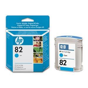 HP inkoustová cartridge azurová C4911A, č. 82