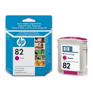 HP inkoustová cartridge purpurová C4912A, č. 82