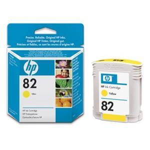 HP inkoustová cartridge žlutá C4913A, č. 82