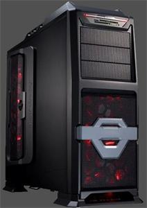 Eurocase middle tower case ML 9801 X2 Cooling, bez zdroje, ATX