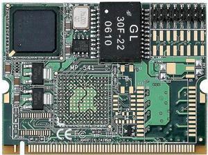 Mini PCI Card Commell MP-541D, 1x Gigabit Ethernet Modul