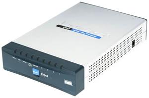 Cisco RV042 10/100 VPN 4-Port Router Dual WAN