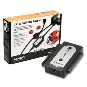 AXAGO - ADID-70 USB2.0 - SATA/IDE adapter, vč.AC