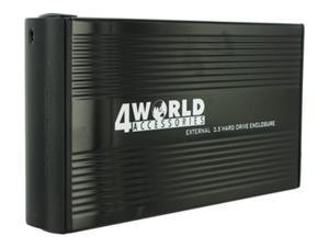 """Externí box pro 3.5"""" HDD IDE/SATA, USB 2.0, barva černá"""