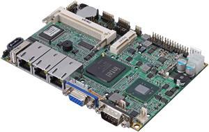 "Commell LE-376C 3.5"" miniboard Intel® AtomTM D525,3xGbe,1xPCIe mini,CF,2xSATAII,CF,SO-DIMM DDR2/667"