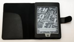 Pouzdro 415 (desky) pro Amazon Kindle TOUCH, umělá kůže, černé