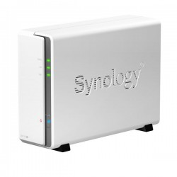 Synology NAS DS115j box pro 1xSATA HDD (až 6TB), 800MHz, 256MB DDR3, 2x USB2.0, Gb LAN