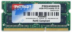 4GB DDR2 800MHz S.O. DIMM (200pin) Patriot