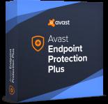 Prodloužení (AVS) Avast Endpoint Protection PLUS, 50 - 199 uživatelů, 2 roky, elektronicky, komerční