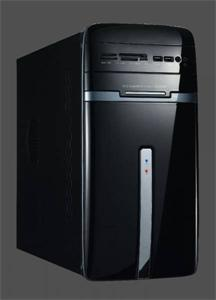 Eurocase micro tower case MC 50 black, bez zdroje, mATX, card reader