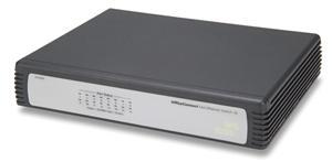 HP V1405-16G Desktop Switch, 16-portový Gb switch bez admin.,100/1G,3YNBD (3C1671600A - 3Com Off.Conn. Gb Switch 16)