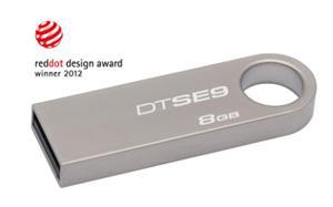 8GB Flash Disk USB 2.0 Kingston DataTraveler SE9 (kovový kryt)