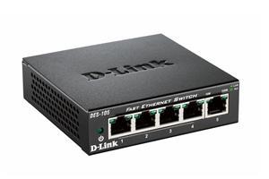 D-LINK DES-105, MetalSwitch 5-port (5x10/100)