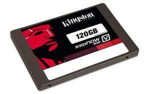 """Kingston SATA3 2.5"""" SSD disk 120GB SSDNow V300-Series,SATA/600, čtení 450MB/s, zápis 450MB/s,výška7mm+adapter"""