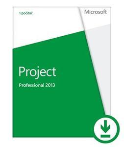 Microsoft Project Pro 2013 32-bit/x64 CZ Medialess