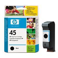 HP inkoustová cartridge černá 51645AE, č. 45