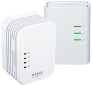 D-LINK DHP-W311AV,D-Link PowerLine AV 500 Wireless N Mini Extender,Starter Kit (1x W310AV+1x 308AV ),Com.Con.Button,WPS