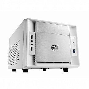 CoolerMaster case mini ITX Elite 120 Advance, white, USB3.0, bez zdroje