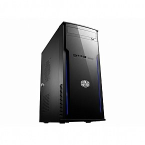 CoolerMaster case minitower Elite 241, ATX, black, bez zdroje