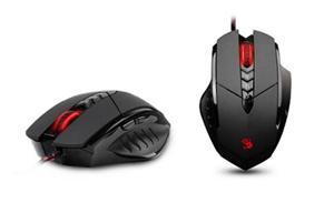 A4Tech Bloody Gamming V7 herní myš, až 3200DPI, HoleLess technologie, 160KB paměť, USB, CORE 2