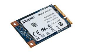 Kingston mSATA/600 SSD disk 120GB SSDNow m200-Series,mSATA/600, čtení 550MB/s, zápis 520MB/s