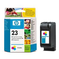 HP inkoustová cartridge barevná C1823D, č. 23