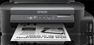 EPSON WorkForce M105, ČB,A4, 1440x720dpi /34 černá, 1 int.tankový systém náplní, USB , WIFI
