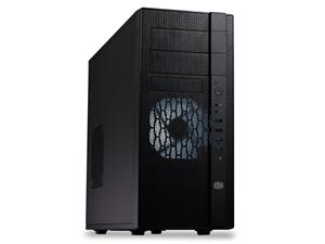 CoolerMaster case miditower series N400, ATX,black, USB3.0, bez zdroje