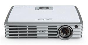 ACER Projektor K335 LED, DLP 3D, WXGA 1280x800, 1000 ANSI, HDMI, USB&SD 1,24Kg