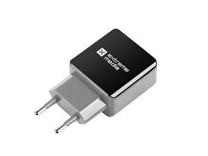 USB nabíječka univerzální, černá (5V/1A)