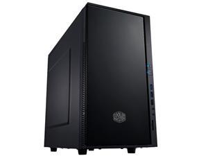 CoolerMaster case minitower Centurion Silencio 352 Matte, ATX,black, USB3.0, bez zdroje, odhlučněný