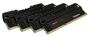 32GB (4x8GB Kit) DDR3 1600MHz DIMM Kingston HyperX 10th Beast CL9, XMP