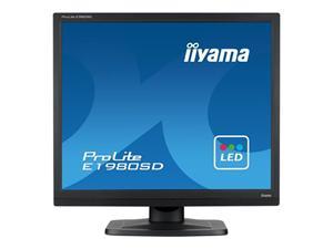 """19"""" Iiyama LCD LED ProLite E1980SD-B1 1280x1024,5ms,VGA,DVI,repro,černá"""
