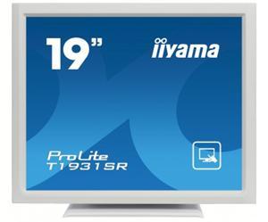 """19"""" Iiyama LCD LED ProLite T1931SR-W1 1280x1024,touch,5ms,VGA,DVI,USB,RS232,repro,bílá"""