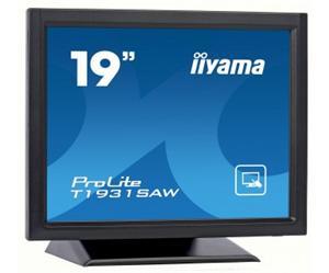 """19"""" Iiyama LCD LED ProLite T1931SAW-B1 1280x1024,touch,5ms,VGA,DVI,USB,RS232,repro,černá"""