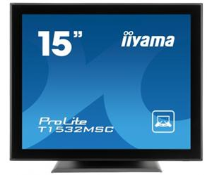 "16"" Iiyama LCD LED ProLite T1634MC-B3X 1280x1024,Multitouch,5ms,VGA,DVI,USB,,černá"