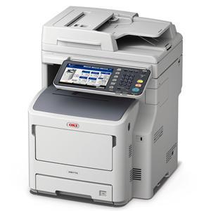 OKI MB770dnfax MFZ+Fax A4, LED, 52 ppm, 1200x1200, 2GB, HDD 160GB, PCL, RADF, USB, LAN, Duplex