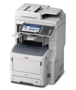 OKI MB770dfnfax MFZ+Fax A4, LED, 52 ppm, 1200x1200, 2GB, HDD 160GB, PCL, RADF, USB, LAN, Finišer, Duplex