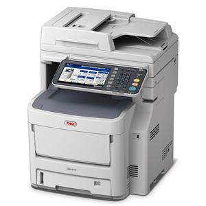 OKI MC770dnfax MFZ+Fax A4, LED, 36/34 ppm, ProQ2400, PCL/PS, 2GB, HDD 160GB, RADF, USB, LAN, Duplex