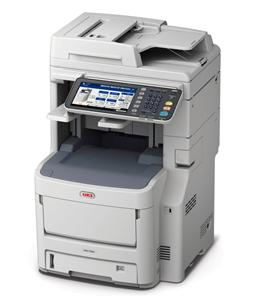 OKI MC780dfnfax MFZ+Fax A4, LED, 40/40 ppm, ProQ2400, PCL/PS, 2GB, HDD 160GB, RADF, USB, LAN, Finišer, Duplex