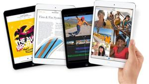 Apple iPad mini Retina display Wi-Fi+Cell 16GB Silver