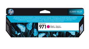 Inkoustová kazeta HP 971 Officejet, purpurová (CN623AE)