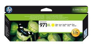 Inkoustová kazeta HP 971XL Officejet, žlutá (CN628AE)