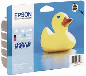 Epson inkoustová cartridge R240/245,RX420/520 multipack (1x černá + 3x barevná)