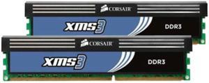 8GB (2x4GB Kit) DDR3/1600 DIMM CORSAIR XMS3 CL9 (9-9-9-24), chladič, XMP