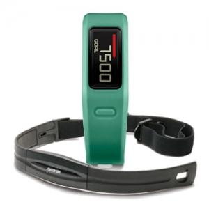 Garmin Vivofit Teal HR, monitorovací náramek/hodinky