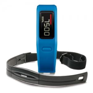 Garmin Vivofit Blue HR, monitorovací náramek/hodinky