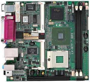 Commell LV-677E,I945G/Socket M,VGA,Gbe,FW,2xSATA,IDE,6xUSB,PCI-e 16x,2xPCIe mini,DDR2,mini-ITX